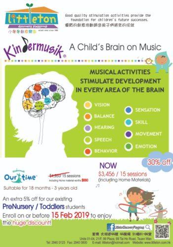 2019 Promotion before 2/15 – Kindermusik